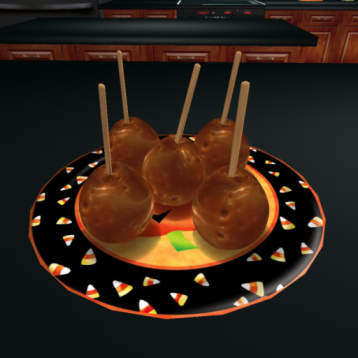 free-halloween-caramel-apples