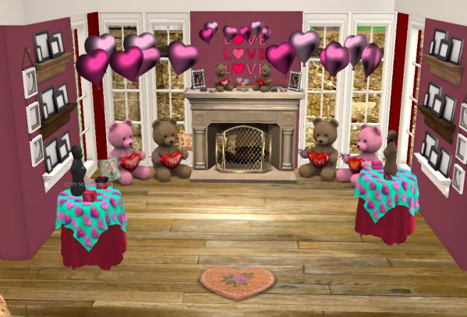 valentine-display