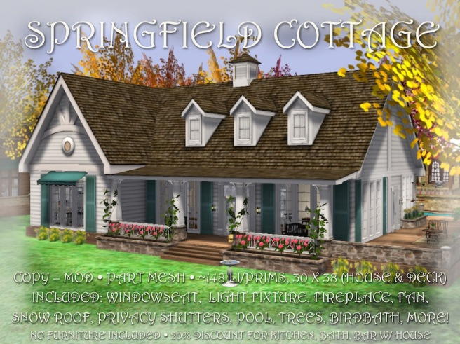 SPRINGFIELD COTTAGE BOX